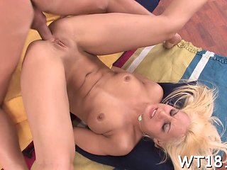 Blonde Teen Babe Is Ready To Suck A Mean Dick Right Now
