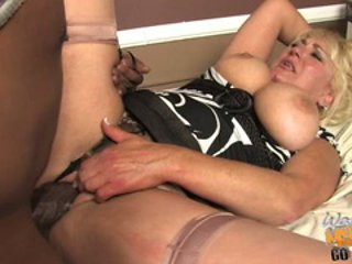 Busty bitch Dana Hayes gets her moist pussy pounded