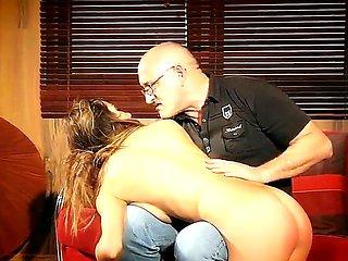 Yoummy babe Alice Romain gets seduced and nailed really...