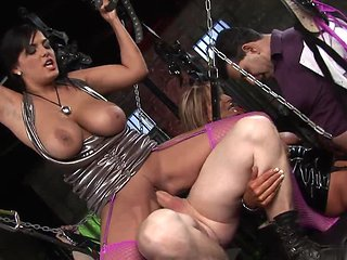 Salacious Babes Get A Severe Penetration In A Close Up ...