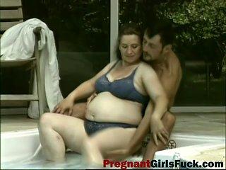 Flawless Pregnant Wife Cherished Arab Husband Sexual Wi...