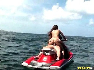 Fuck in the middle of the sea (Reality Kings  MILF Hunter)