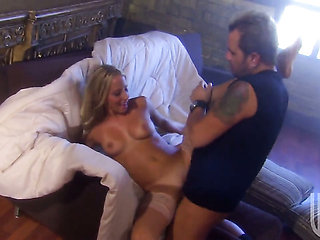 Ashley Jensen wants mans ram rod to fuck her mouth