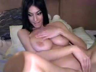 Amazing Amateur clip with Big Tits, Masturbation scenes