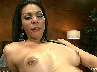 POV switch: Having Her Ts Mouth and Cock all to Yoursel...
