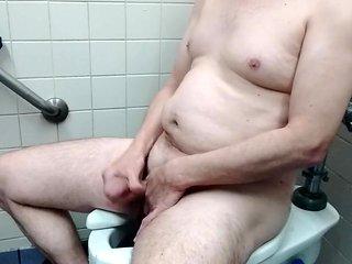 Public restroom jerk 1