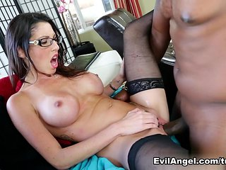 Exotic pornstars Dava Foxx, Lexington Steele in Best St...