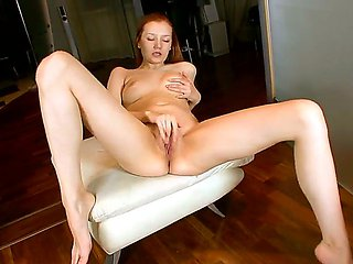 Have fun with seductive red-head babe Sashenka getting ...
