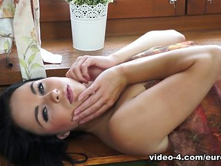 Lucie in Lucie's Blowing Scarf - EuroBabesHd