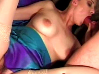 A Couple Let A Guy Join Them For A Bisex Threesome