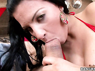 Marilyn Scott with phat bottom loves the way her sex pa...