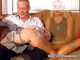 Ass Spanking Delight