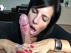This Woman Has Magic Hands - Very Huge Cumshots Compilation -