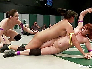 Sept. Tag Team Match-Up!! Fierce Fight, Face Sitting, F...