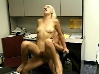 Incredible pornstar Layla Jade in fabulous blonde, cums...