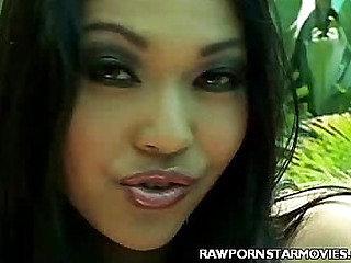 Asian Porn Star Tit Tease