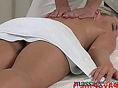 Massage Rooms Innocent Young Girl Has Her Tight Hole Creamed