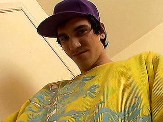 Straight Skater Cum Face