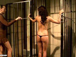 Mandy Bright like to keep a horny babe in jail
