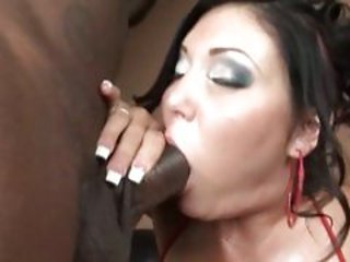 Tart Claire Dames keeps her mouth busy with this dick b...