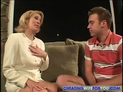 Mom finds son's friend sleeping on couch