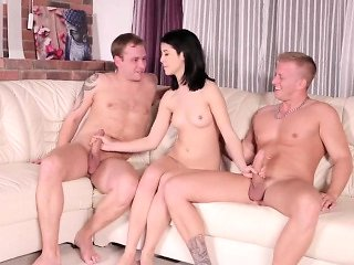 Bf assists with hymen examination and riding of virgin ...