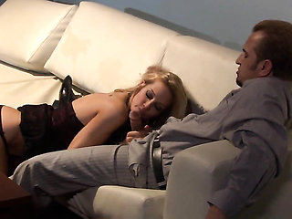 Jessica drake cant get enough and takes guys stiff worm...
