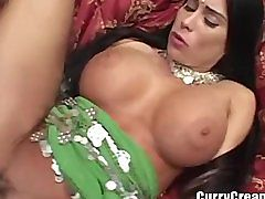 Desi Babe Gets Ass Fucked By Big White Cock