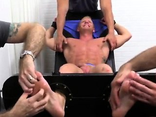 Naked latino boys feet gay first time Johnny Gets Tickl...