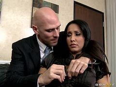 Brunette Secretary Isis Love Gets Fucked In The Office By Her Boss