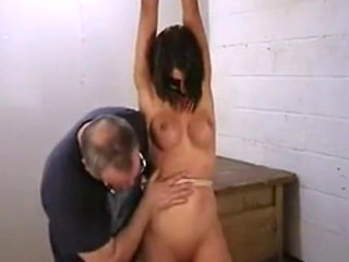 Pussy And Tit Spanking