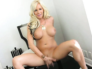 Eden Adams with giant hooters and smooth beaver puts he...