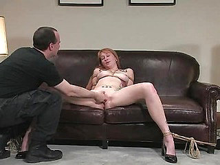 Casting Couch 11: Scarlet Von Pink Red Headed Amazon!