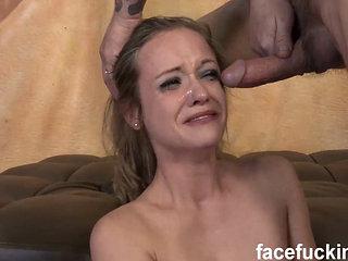 21 Year Old Shy Whore Keegan Kade Takes On 2 Cocks The ...
