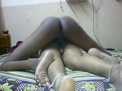 Sexy Cute Indian Aunty enjoy with her Partner