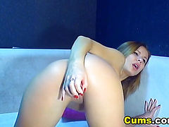 Cute Blonde Teen Fingering